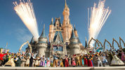 Walt Disney World Resort marked its 45th anniversary on October 1, 2016 in Lake Buena Vista, Florida.