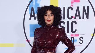 Christina Aguilera belts a Whitney Houston tribute at American Music Awards