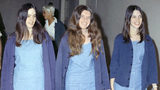 In this Aug. 20, 1970, file photo, Charles Manson followers, from left: Susan Atkins, Patricia Krenwinkel and Leslie Van Houten walk to court to face charges in the August 1969 cult killings of seven people, including pregnant actress Sharon Tate.