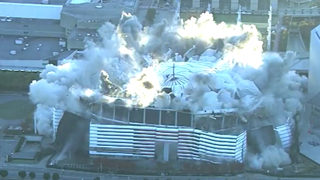Second Georgia Dome implosion scheduled to bring down remaining wall