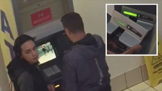 CAUGHT ON VIDEO: Shopper catches duo installing skimmer on mall ATM