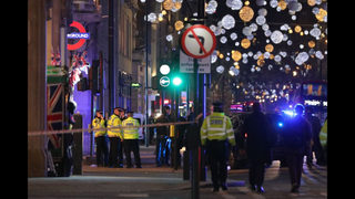 British police respond to incident at London