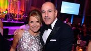 Katie Couric said Matt Lauer had a bad habit of pinching her behind during a 2012 appearance on