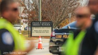 School crossing guard fatally hit in front of students