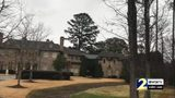 One of rapper R. Kelly's mansions in Johns Creek, Georgia, that was robbed while he was on tour. Police said the robbers sold off the contents of Kelly's two homes.
