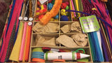 File photo: A child's craft kit could keep cabin fever at bay when snow hits.