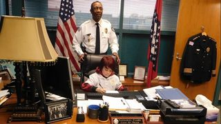 Boy, 10, becomes 'Chief for a Day