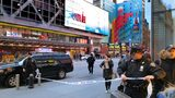 Police secure Eighth Avenue outside the Port Authority Bus Terminal following an explosion near New York's Times Square on Monday, Dec. 11, 2017.
