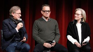 Tom Hanks jokes about 'The Post