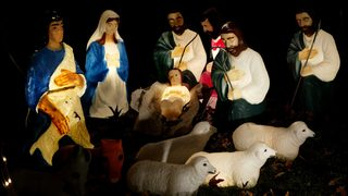 WATCH: Sheep runs off with baby Jesus in hilarious church nativity program