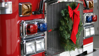Fire department recreates adorable holiday card one year later