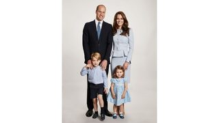 William and Kate release family Christmas card photo