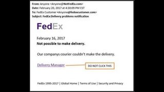 How to avoid FedEx, UPS, USPS email scams targeting some