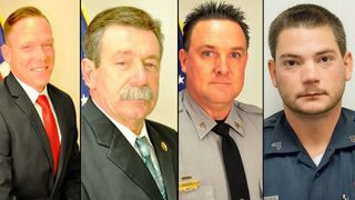 Injured South Carolina officers were ambushed by suspect, sheriff says