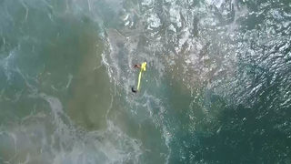 WATCH: Drone saves 2 swimmers at Australian beach