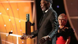 Morgan Freeman honored with lifetime achievement award at SAG Awards