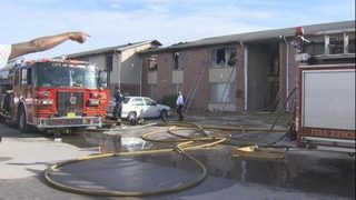 Firemen: Child igniting paper on space heater starts fire at Orlando apartment complex