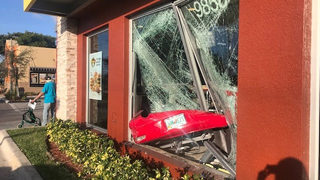 Florida woman, 81, smashes car into McDonald