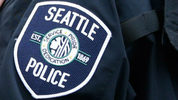 File image of a Seattle Police Department badge.