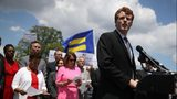 U.S. Rep. Joe Kennedy (D-MA) speaks during a press conference on July 26, 2017 in Washington, DC. He delivered the Democrat's response to the State of the Union address on Jan. 30, 2018. (Justin Sullivan/Getty Images)
