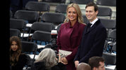 FILE PHOTO: Jared Kushner (R) arrives with Vanessa Trump on the West Front of the U.S. Capitol on January 20, 2017 in Washington, DC. In today's inauguration ceremony Donald J. Trump becomes the 45th president of the United States.