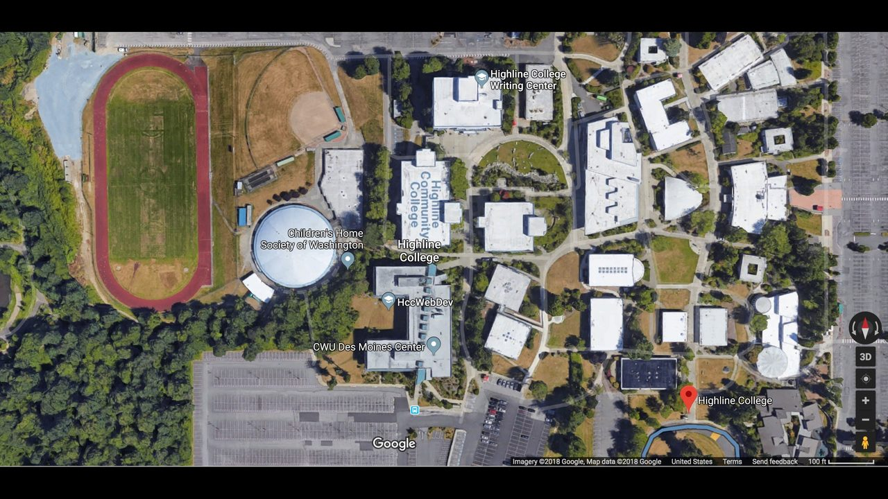 Reports of gunfire prompt lockdown at Washington college | FOX13 on cwu washington on map, university of arkansas campus map, cwu football recruiting 2013, cwu campus map,