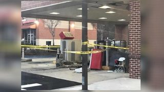 Thief uses oxygen tank to blow up ATM, police say