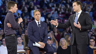 Rubio faces tough crowd during town hall on gun reform