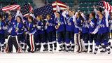 WATCH: U.S. Women's Hockey Team Wins the Gold