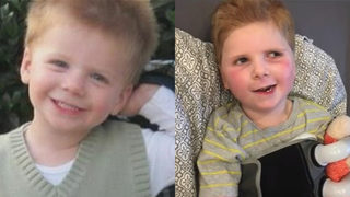 Tripp Halstead memorial: Mourners pay tribute to boy seriously injured by tree limb in 2012