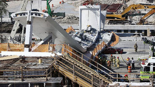 Cables tightened on FIU bridge before it collapsed, possible cracks reported