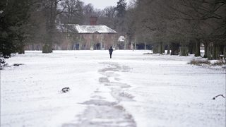 Woman, 70, treks through snow 5 miles after she can
