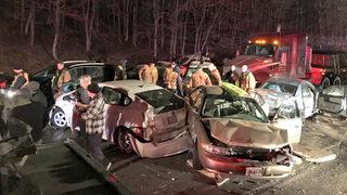 20-vehicle crash in Maryland declared