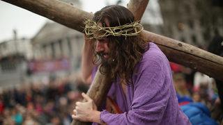 How did crucifixion kill Jesus?