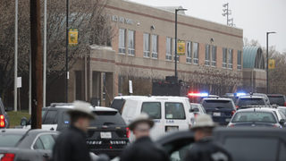 Sheriff says shooter at Maryland school has died