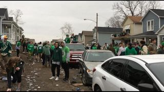 Many students misbehaved this St. Patrick
