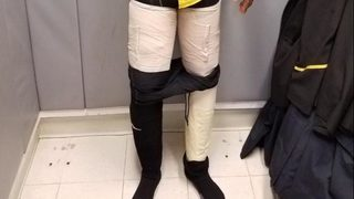 Airline crew member caught with 9 pounds of cocaine taped to legs