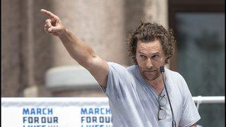 Matthew McConaughey gives Austin