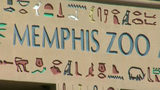 The sign for the Memphis Zoo.