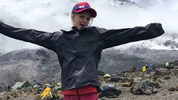 Montannah Kenney, 7, is the youngest female to trek Mount Kilamanjaro.