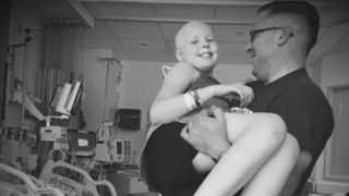 Father running in Boston Marathon to support center that treated daughter