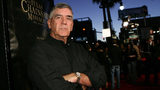 """LOS ANGELES, CA - OCTOBER 05: Actor R. Lee Ermey arrives at the premiere of New Line's """"Texas Chainsaw Massacre: The Beginning"""" at Grauman's Chinese Theatre on October 5, 2006 in Los Angeles, California. (Photo by Michael Buckner/Getty Images)"""