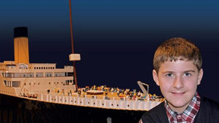 Boy with autism builds 26-foot long Titanic replica out of Legos
