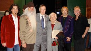 The Oak Ridge Boys attending Barbara Bush funeral