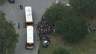 1 injured in shooting at Florida high school