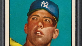 1952 Topps Mickey Mantle baseball card fetches record  $2.88 million at auction
