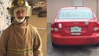 Florida man asking for help to get back his stolen firefighter training gear