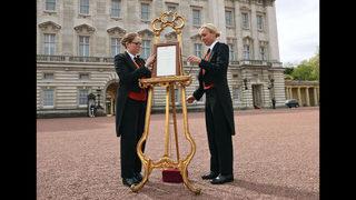 Photos: Royal baby born: Kate Middleton, Duchess of Cambridge, welcomes third child