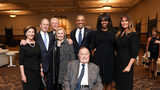 First Families Pose Together At Barbara Bush Funeral