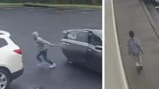 WATCH: Car thieves abduct 6-year-old from day care parking lot